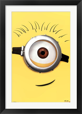 Framed Despicable Me 2 - Carl Print