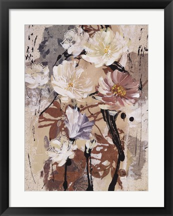 Framed Floral Flair IV Print