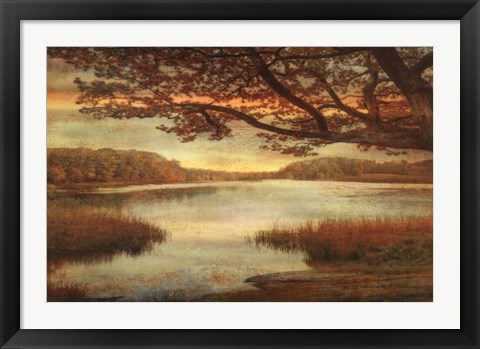 Framed Landscape Lake Print