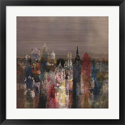 Framed Penthouse View II Print