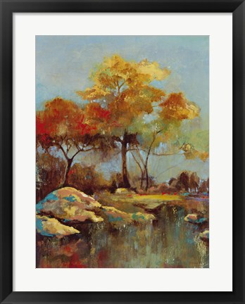 Framed Silent Colours III Print