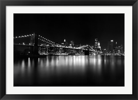 Framed Night Crossing Print