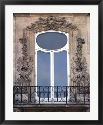 Framed Rue De Paris III Print