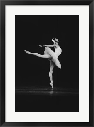 Framed Margot Fonteyn, Swan Lake 1963 Print