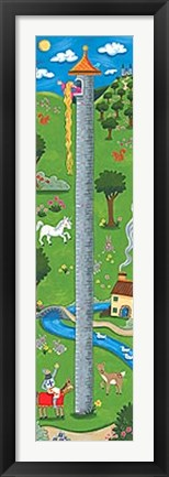 Framed Rapunzel Growth Chart Print