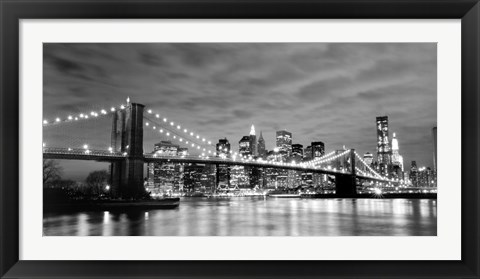 Framed City Connection I Print