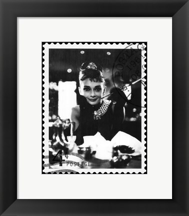 Framed Movie Stamp II Print