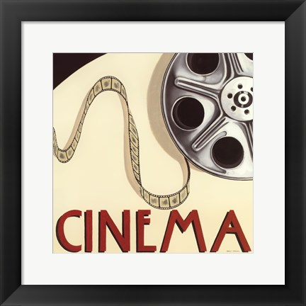 Framed Cinema Print