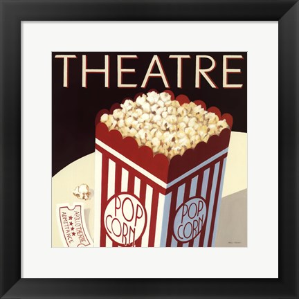 Framed Theatre Print