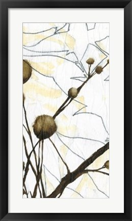 Framed Willow Blooms I Print