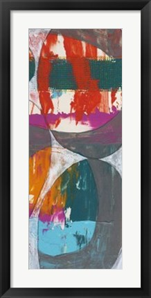 Framed Nested Ellipse II Print