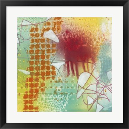 Framed Walking on Sunshine II Print