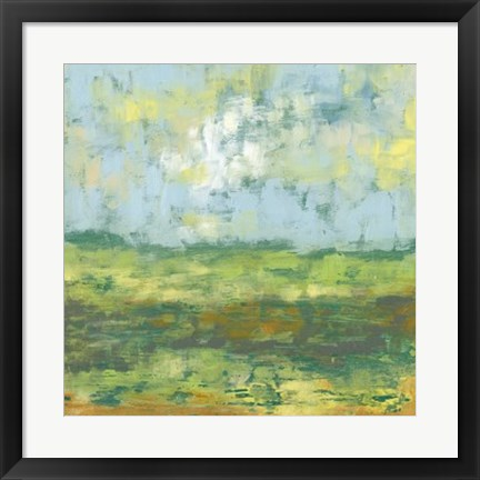 Framed Sunfield II Print