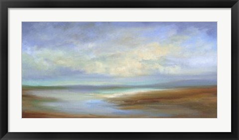 Framed Sand Bar Print