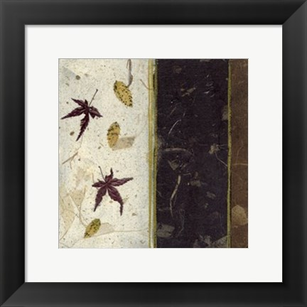 Framed Earthen Textures XV Print