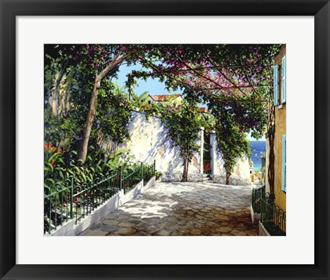 Framed Positano Sunlight Print