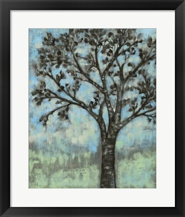 Framed Breeze II Print