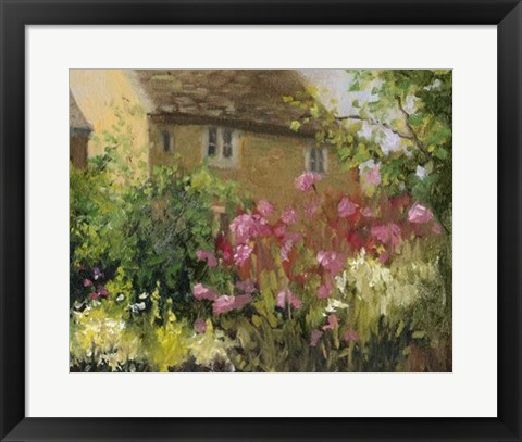 Framed Cotswold Cottage IV Print