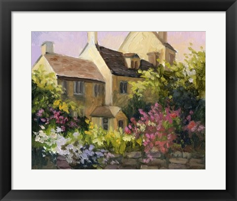Framed Cotswold Cottage V Print