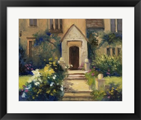 Framed Cotswold Cottage VII Print
