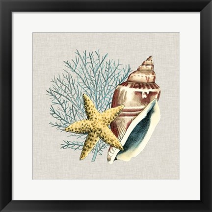 Framed By the Seashore IV Print
