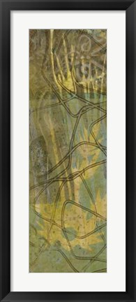 Framed Safari Abstract I Print