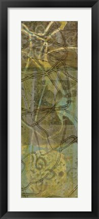 Framed Safari Abstract II Print