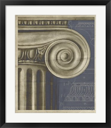 Framed Ionic Architecture I Print