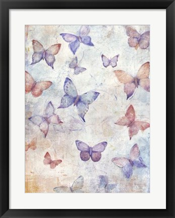 Framed In Flight II Print