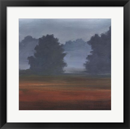 Framed Early Morning Mist II Print
