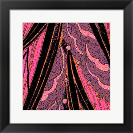 Framed Pink Purse I Print
