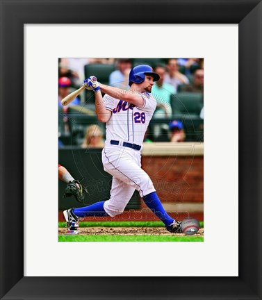 Framed Daniel Murphy 2013 Action Print