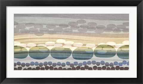 Framed Pebble Beach Print