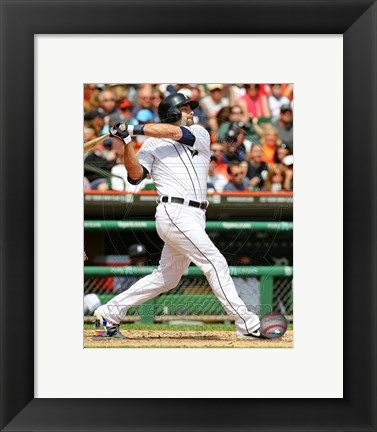 Framed Alex Avila batting 2013 Print