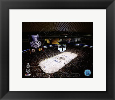 Framed TD Garden Game 3 of the 2013 Stanley Cup Finals Print
