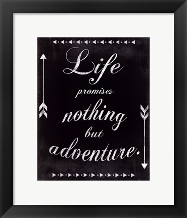 Framed Only Adventure Print