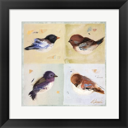 Framed Birds I Print