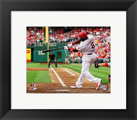 Framed Ryan Howard 2013 Print