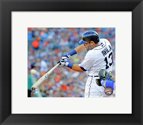 Framed Alex Avila 2013 Detroit Tigers Print