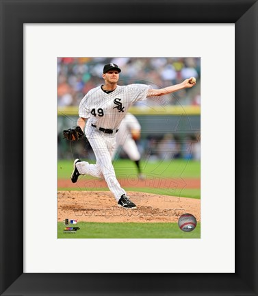 Framed Chris Sale 2013 Action Print