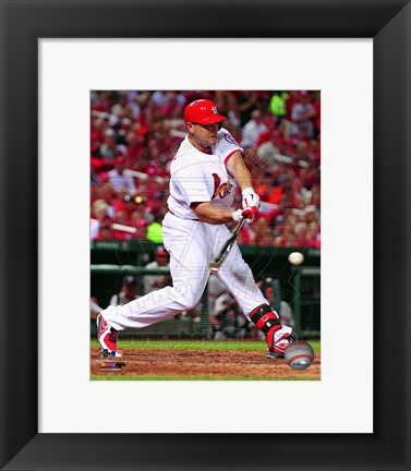 Framed Matt Holliday 2013 Action Print