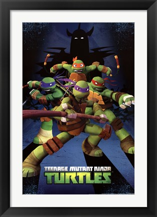 Framed Teenage Mutant Ninja Turtles - Assemble Print