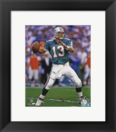 Framed Dan Marino 1994 Action Print