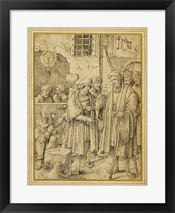 Framed Seven Acts of Mercy: Ransoming Prisoners Print
