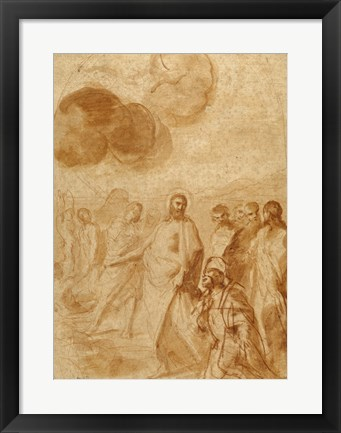 Framed Christ's Command to Saint Peter, Feed My Sheep Print