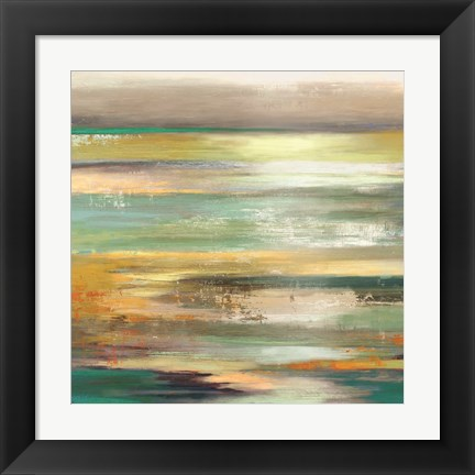 Framed Evening Tide II - Mini Print