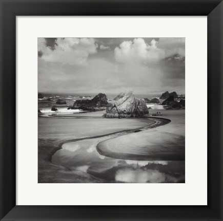 Framed Beach Path-Mini Print