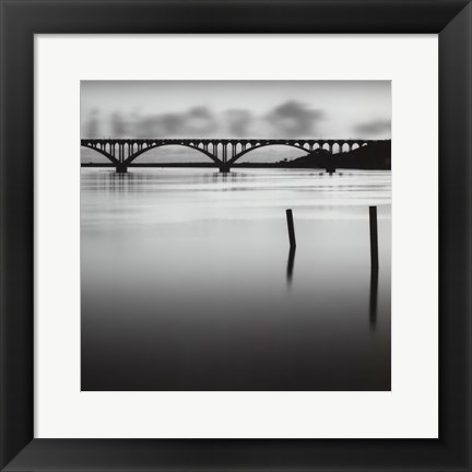 Framed Bridge Reflection - Mini Print