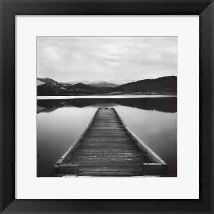 Framed Pier Path - Mini Print