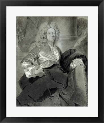 Framed Portrait of a Man Print